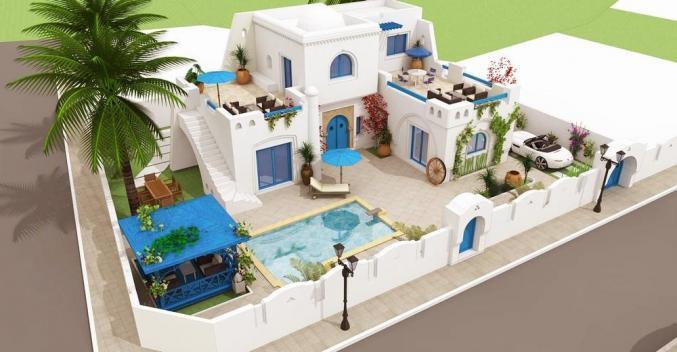 Villa à Djerba vue mer