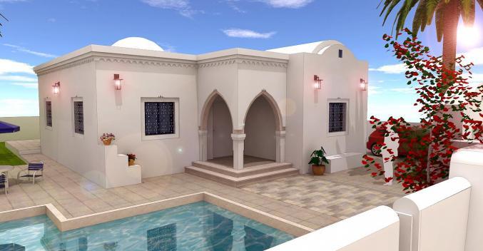 Villa plain-pied à Djerba