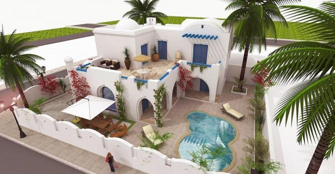 Villa vue de mer sur Djerba
