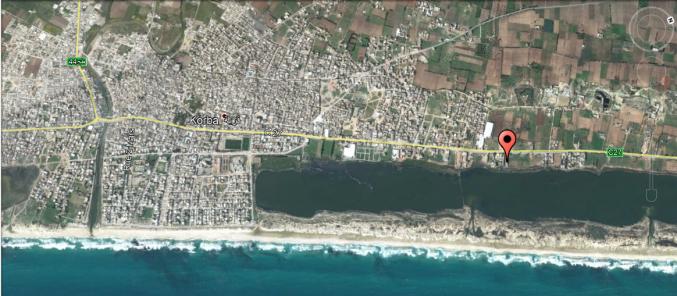 2000 m² sur la route principale Korba - Menzel Temim