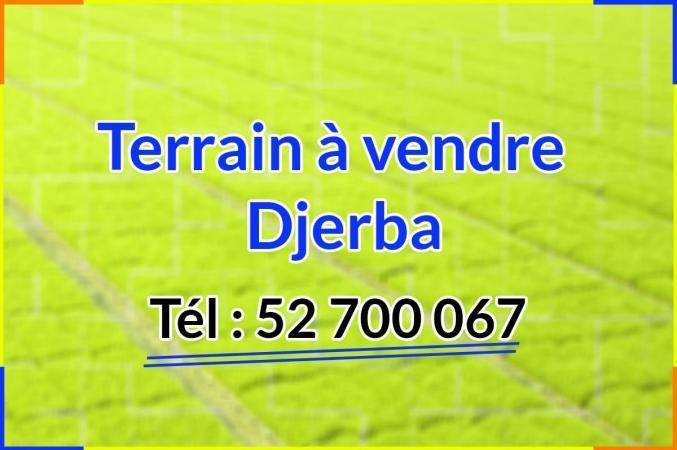 Terrain à vendre Djerba