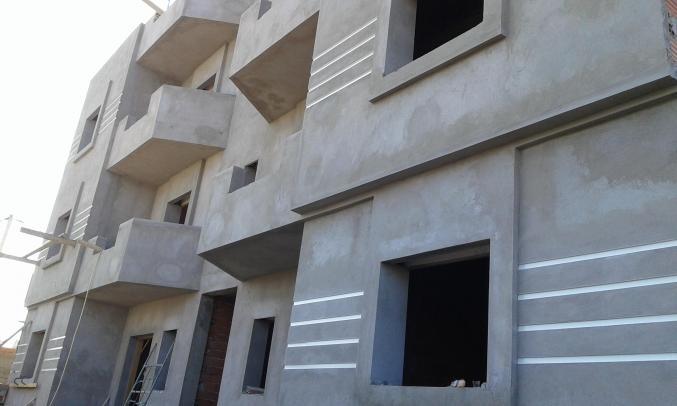immeuble R plus 3 en cours de construction