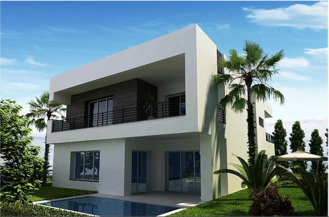 Villa neuves avec piscine