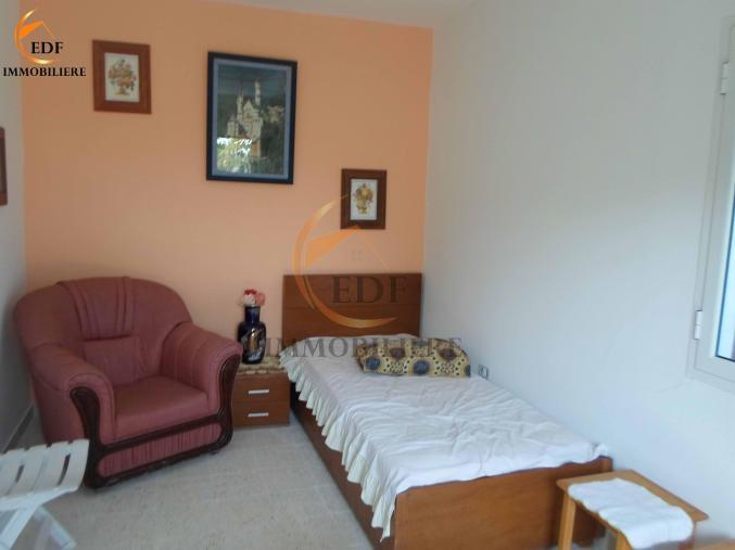 Réf5077: Maison meublée de 2 pièces à la Corniche Bizerte