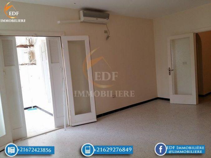 Réf 2043: Un appartement de 4 pièces a vendre à El bhira Bizerte