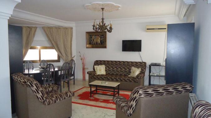 étage de villa à kantaoui meublé