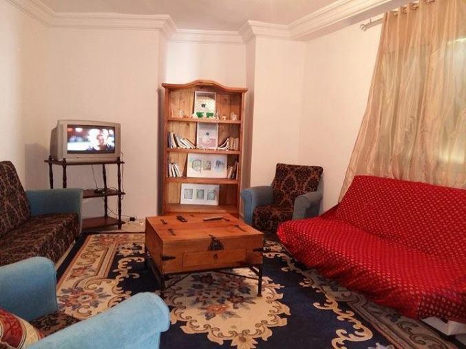 Un bel étage meublé de 4 pièces à Corniche Bizerte