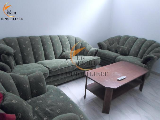 Un Rdc de 2 pièces meublé à Corniche Bizerte