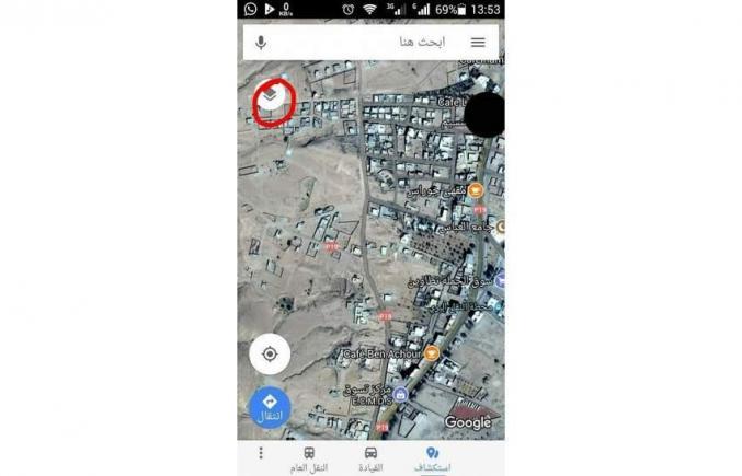 ارض للبيع بحي عباس تطاوين 918 متر