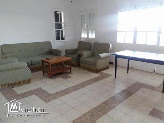 Un étage de 2 pièces meublé à Corniche Bizerte
