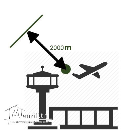 ارض للبيع قرب مطار جربة