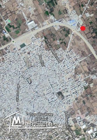 Terrain agricole de 3760m² à Dar Chaabane El fehri T008