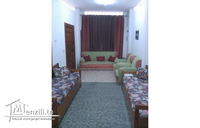 S+2 meublé à Menzah9 seulement pour famille