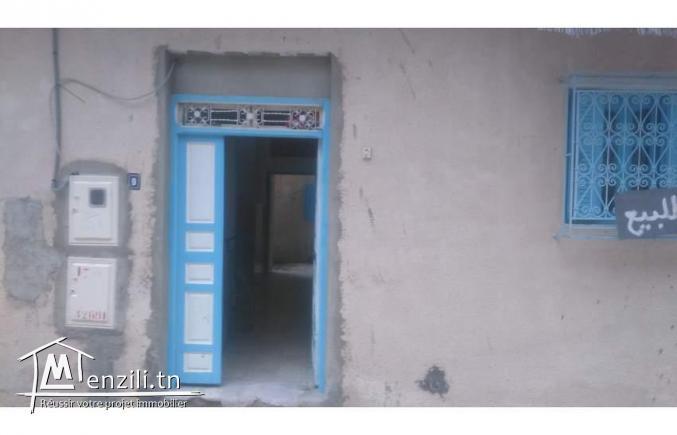 للبيع منزل بسيدي حسين الثمن75الف
