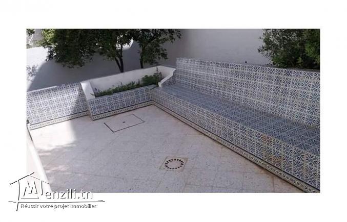 Rez de chaussée de villa 140m2 à Ariana Ghazela