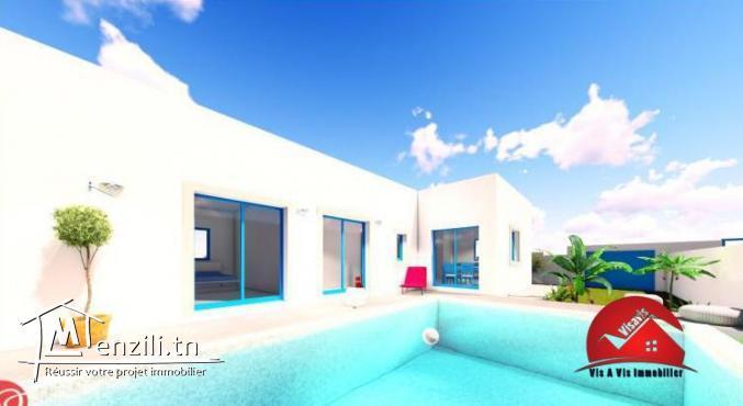Construction maison avec piscine  A DJERBA HOUMT SOUK