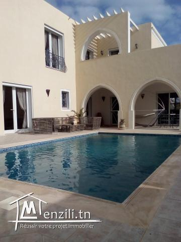 Villa piscine Aghir vue mer ZU