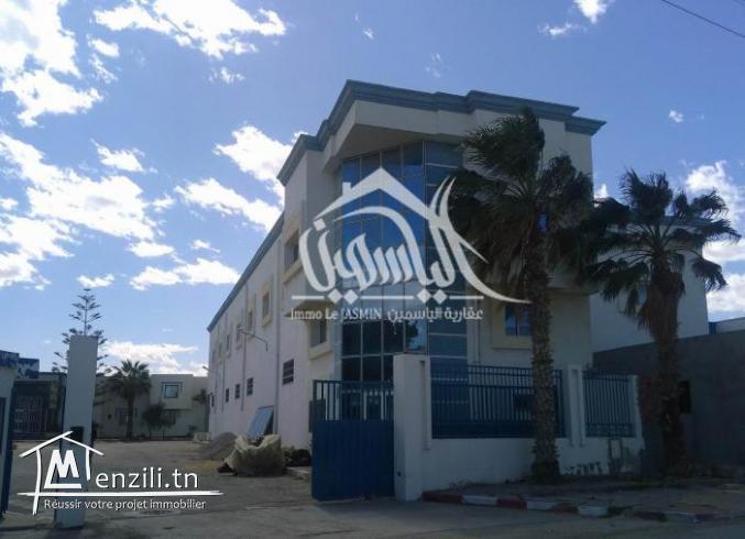 Usine du 1 ère étage dans la zone industrielle de Sidi Abdel Hamid