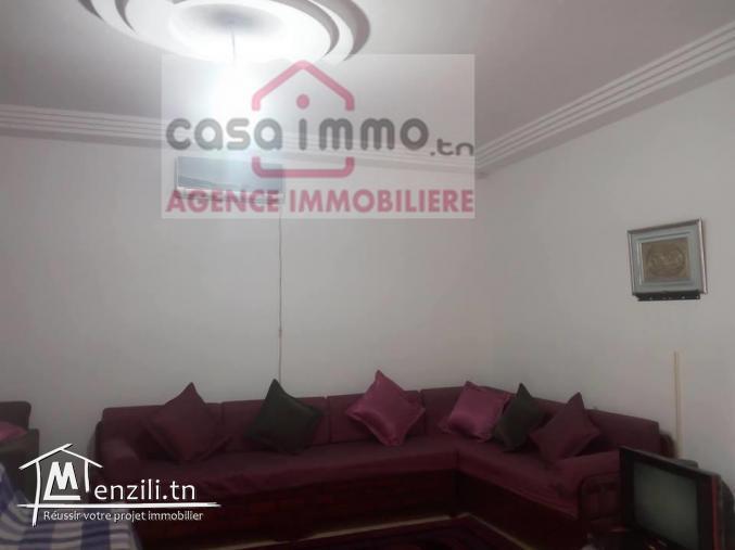 A vendre à El Medina Jadida villa neuve S+3 RDC