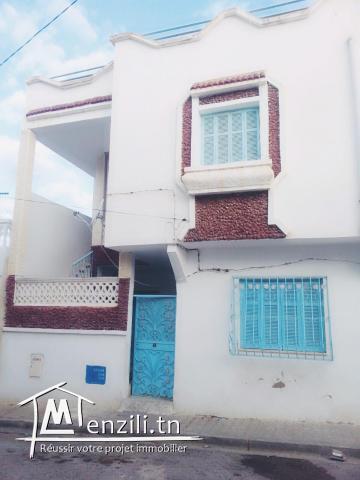 maison a vendre  avec 1ere etage