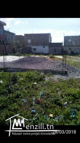 Terrain 181 m2 à Bizerte