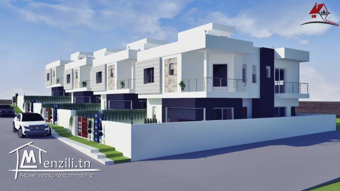 projet villa a haouaria