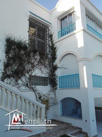 villa style sidi bou saide à haouaria
