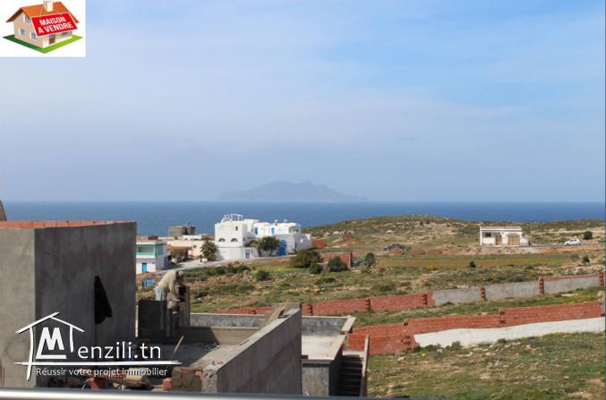 villa situé dans la charmante commune d'el haouaria à 7 minutes à la plage haouaria