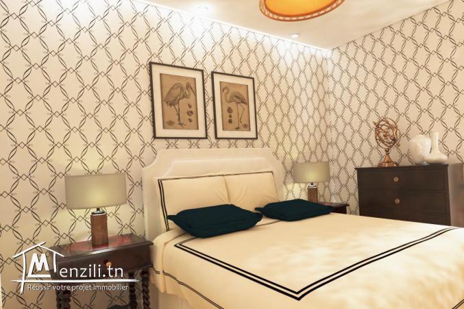 Appartement S+2 de 111 m² à la cité olympique Sousse