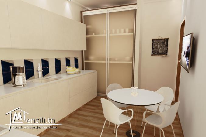 Appartement S+3 de 160 m² à la cité olympique Sousse