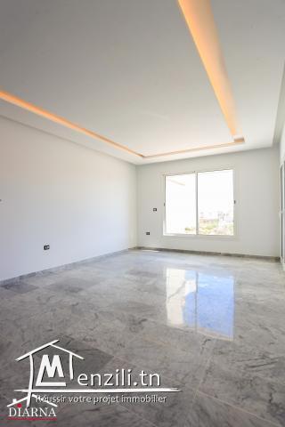 Appartement S+2 de 98 m² à Sahloul 4