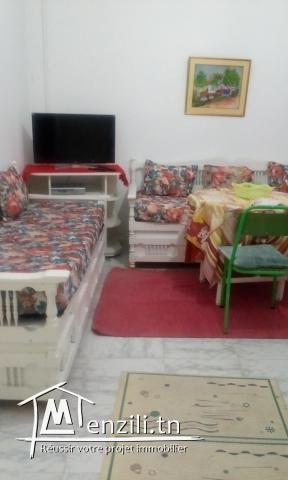 studio meublé s+1