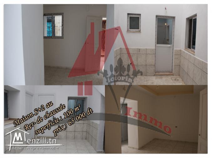 maison à 2 niveaux à Menzil Tmim