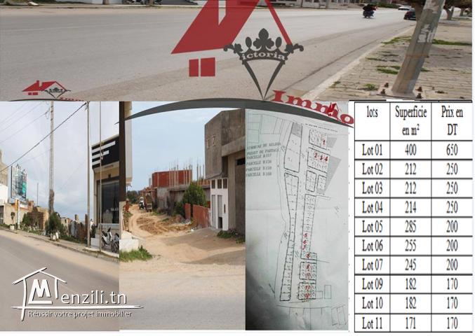 un lotissement à Kélibia - Mansoura 2