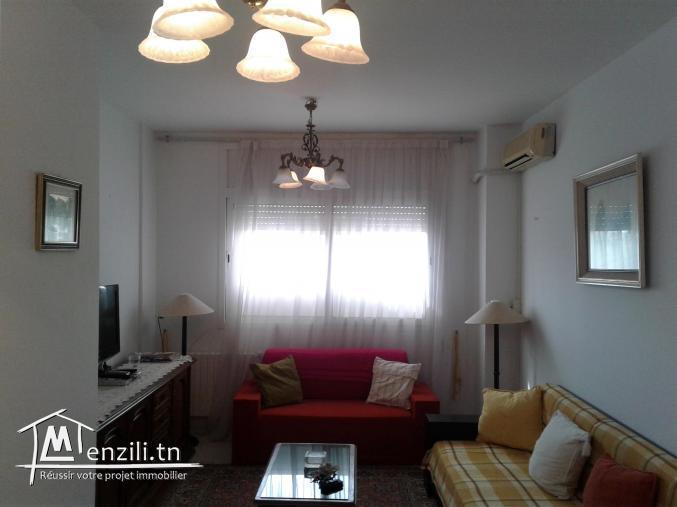 Appart meublé a Ain Zaghouan