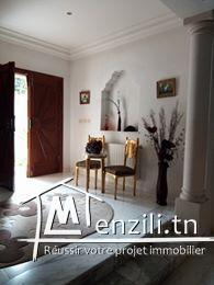 belle villa a bardo dans un cartier chik: