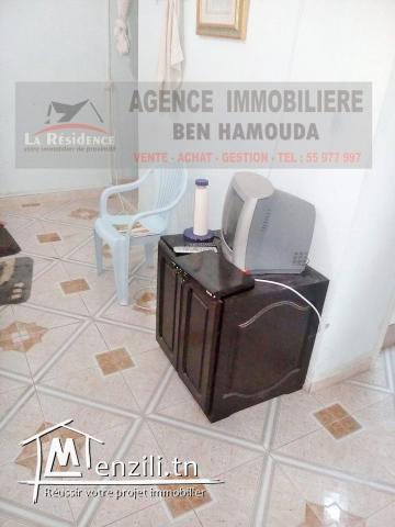 Studio à vendre à beb mateur Bizerte