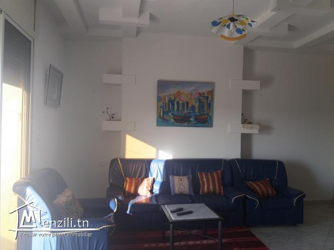 Appartement Maison Bien Meublé à Louer à Kelibia Pendant