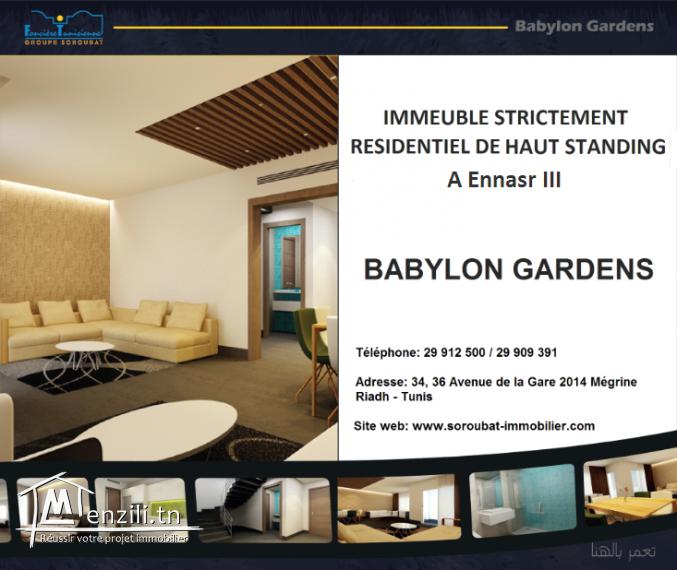Appartements de haut standing à Ennasr 3