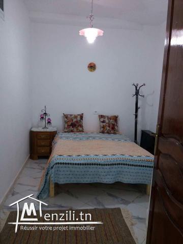 Appartement Maison Bien Meuble à Louer à Kelibia Pendant
