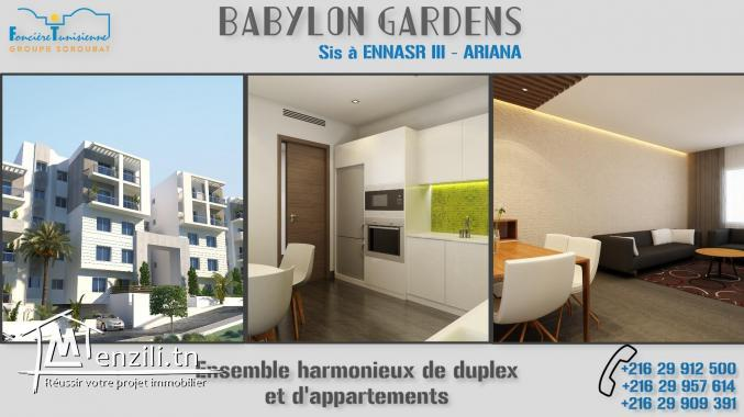 Appartements haut satanding à Cité Enassr