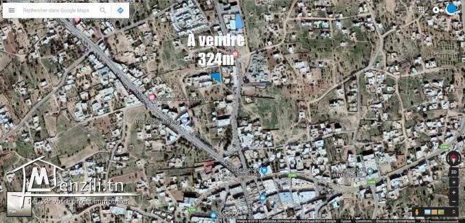 Térrain constructible pour habitat au centre de Midoun djerba