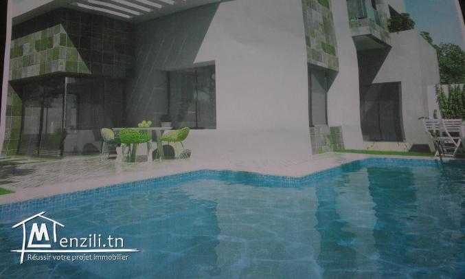 Villa à vendre inachevé très moderne