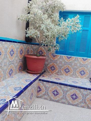 maison style américain à Hammamet