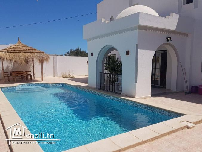 Villa avec piscine pour les vacances djerba houmt souk