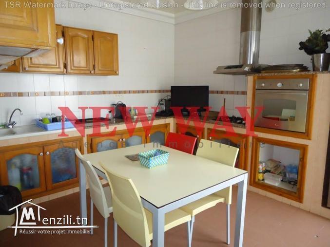Villa à khzema ouest proche de toutes commodités