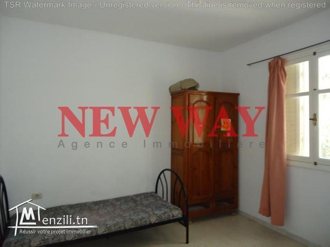 Appartement (s+2) au première étage à Sousse