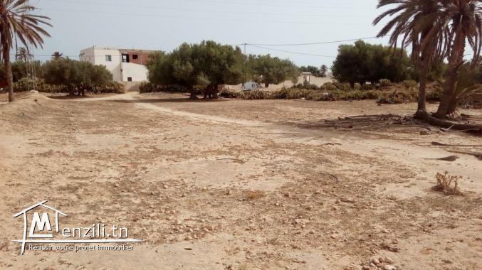 Terrain de 1112 m² a Djerba Homet Souk