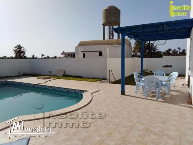 Charmante villa richement meublée située à Tezdayine mise en location