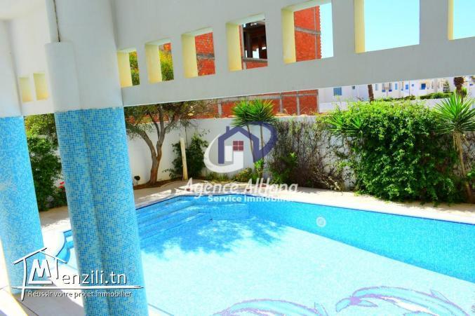 appartement vue sur mer avec piscine